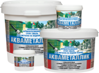 Акваметаллик — водная акриловая грунт-эмаль по металлу без запаха